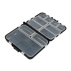 cheap Fishing Tackle Boxes-Fishing Tackle Boxes Tackle Box Waterproof Multifunction 1 Tray Plastic Metal 3 12