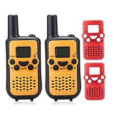billige Walkie-talkies-T899BR Walkie-talkie Håndholdt VOX LCD Skan Overvågning 3-5 km 3-5 km 8 0.5W Walkie Talkie Toveis radio