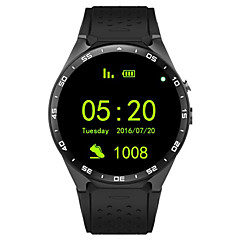 cheap -KING-WEAR® YYKW88 Men Smartwatch Android Bluetooth GPS Sports Touch Screen Calories Burned Long Standby Timer Activity Tracker Sleep Tracker Sedentary Reminder Find My Device / Hands-Free Calls