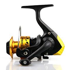 זול גלילי דיג-סלילי טווייה / גלגלת לדיג בקרח 5.1:1 3 מיסבים כדוריים ניתן להחלפההטלת פיתיון / דיג קרח / Spinning / דייג במים מתוקים / אחר / דיג קרפיון /