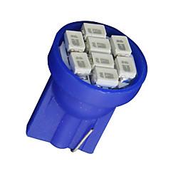 20 x t10 ultra kék szuper fényes 8-SMD LED izzók 194 2825 921 168 175 501