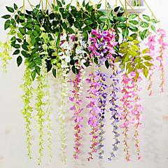 billige Kunstige blomster-Kunstige blomster 1 Gren Moderne Stil Lilla Veggblomst