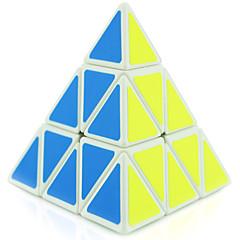 baratos -Cubo mágico Cubo QI Shengshou Pyramid 3*3*3 Cubo Macio de Velocidade Cubos mágicos Cubo Mágico Nível Profissional Velocidade Concorrência Clássico Crianças Adulto Brinquedos Para Meninos Para Meninas
