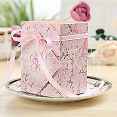 Cuboid Card Paper Favor Holder With Ribbons Bow Favor Boxes Gift Boxes-10