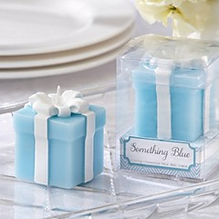 10box / lot - noe blått bryllupsgave stearinlys