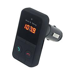 käsi vapaa langaton bluetooth FM-lähetin-modulaattori autosarja mp3-soitin LCD kauko controll auto musiikkisoitin