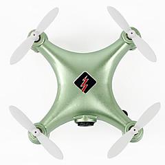 billige Fjernstyrte quadcoptere og multirotorer-RC Drone WL Toys Q343 4 Kanaler 6 Akse 2.4G Med kamera Fjernstyrt quadkopter Flyvning Med 360 Graders Flipp Tilgang Real-Tid