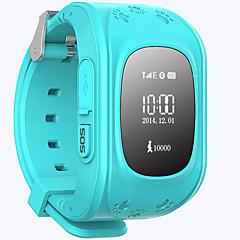 billige Smartklokker-Barneklokker til iOS / Android Håndfri bruk / Vannavvisende / Lyd / Beskjedkontroll Stoppeklokke / Stopur / Aktivitetsmonitor / Finn min enhet / Vekkerklokke / Del med samfunn / 128MB