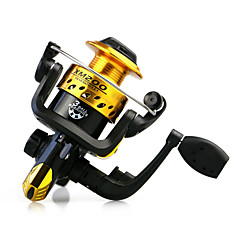 cheap Fishing Reels-Fishing Reel Spinning Reels 5.1:1 Gear Ratio+3 Ball Bearings Exchangable Bait Casting Ice Fishing Spinning Freshwater Fishing Other