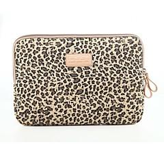 klassieke luipaard laptop sleeve notebook tas laptop case cover liner bag schokbestendig 15,6 inch