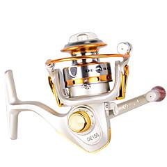 cheap Fishing Reels-Ice Fishing Reels 5.2:1 Gear Ratio+10 Ball Bearings Hand Orientation Exchangable Bait Casting Ice Fishing Spinning Freshwater Fishing