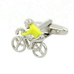 Spinki do mankietów 2pcs,Zıt Renkli Beyaz Moda Kol düğmesi Erkeklerin Mücevher
