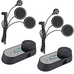 2 stuks freedconn TCOM-sc bt bluetooth motorhelm headsets intercom intercominstallatie headset LCD-scherm FM-radio helm intercom