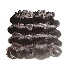 billige Remy fletninger af menneskehår-Jomfruhår Remy fletninger af menneskehår Krop Bølge Brasiliansk hår 2000 g 6 måneder