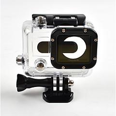tanie Akcesoria do GoPro-gładka Rama etui Wodoszczelna obudowa Anti-shock Wodoodporne Ochrona przeciwkurzowa Wygodny Dla Action Camera Gopro 3 Narciarstwo