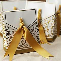 cheap Favor Holders-12 Piece/Set Favor Holder - Creative Card Paper Favor Boxes Non-personalised Beter Gifts Wedding Party Decorations