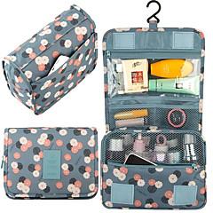 Utazótáska Felakasztható neszeszer Helytakarékos kompressziós zsákok Szépségápolási táska Poggyászrendező utazáshoz Vízálló Porbiztos