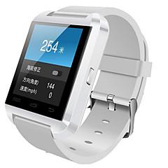 billige Smartklokker-Smartklokke til iOS / Android Lang Standby / Håndfri bruk / Pekeskjerm / Distanse måling / Pedometere Aktivitetsmonitor / Søvnmonitor / Stillesittende sittende Påminnelse / Finn min enhet / øvelse
