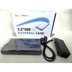 harde schijf doos van 2,0 3,5 inch hddenclosure sata externe doos geval voor willekeurige kleur