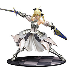 Anime Toimintahahmot Innoittamana Fate/stay night Saber Lily PVC 27 CM Malli lelut Doll Toy