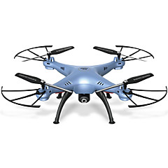 RC Drone SYMA X5HW 4-kanaals 6 AS 2.4G Met 0.3MP HD Camera RC quadcopter FPV Terugkeer Via 1 Toets Failsafe Headless-modus 360 Graden Fip