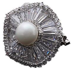 billige Motebrosjer-Dame Nåler Luksus Smykker Perle Smykker Til Daglig