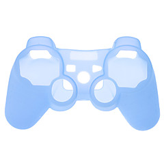 Beschermende siliconen case voor de PS3-controller (assorti kleur)
