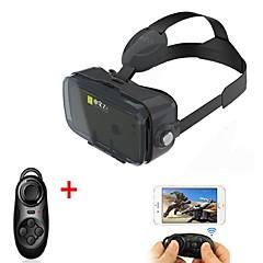 ゲームパッドで4.7から6.2インチのスマートフォン用の黒VR 3DグラスバーチャルリアリティヘッドセットのボーボボのVR