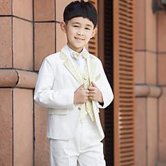 Serge Costum Cavaler Inele - 5 Bucăți Include Jachetă Cămașă Vestă Pantaloni Papion
