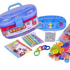 צעצועים מגנטיים אבני בניין צעצוע חינוכי חתיכות צעצועים מגנט חמוד מגנטי מעגלי מתנות