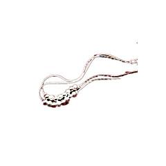 tanie Piercing-Łańcuszek na kostkę - Posrebrzane Spersonalizowane, Moda Na Codzienny Damskie