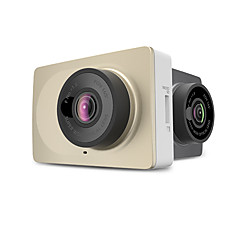 abordables Automatique High tech-Xiaomi YI 1920 x 720 / 1296P Mini / Antichocs / Grand angle DVR de voiture 160 Degrés / 165 degrés Grand angle CMOS 12.0MP 2.7 pouce LCD