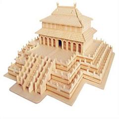 halpa -Palapelit Puiset palapelit Rakennuspalikoita DIY lelut Kiinalainen arkkitehtuuri 1 Puu Kristalli Rakennuslelu