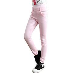お買い得  女児 パンツ&レギンス-子供 女の子 ドレスウェア スポーツ / 学校 ソリッド パンツ