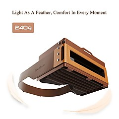 Focalmax Accordion VR Glasses Virtural Reality 3D Movie Video Game for 4.5 to 6 Inch Smartphone Nanoparticles Silicon Skin Close