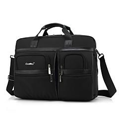 billiga Laptop Bags-17,3 tums multi-fack laptop axelväska vattentät Oxford tyg med väskremmen datorväska handen för Dell / hk / Sony / acer / Lenovo etc