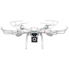 billige Fjernstyrte quadcoptere og multirotorer-RC Drone MJX X101 4 Kanaler 6 Akse 2.4G Fjernstyrt quadkopter En Tast For Retur / Hodeløs Modus Fjernstyrt Quadkopter / Fjernkontroll / Skrutrekker