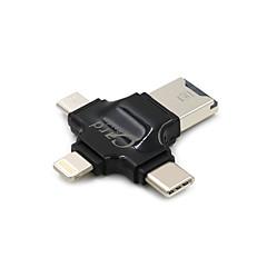 preiswerte -SENKAMA MicroSD / MicroSDHC / MicroSDXC / TF Alles in einem OTG Apple-Blitz USB 2.0 USB 3.0 MicroUSB