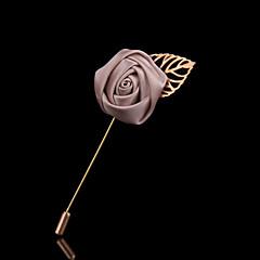 bryllup stil elegant sølv belagte rhinestone broche