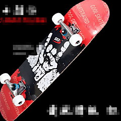 Standard Skateboards Wood Aluminium Alloy Black Blue