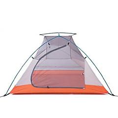 Naturehike 3-4 Persoons Tent Dubbel Kampeer tent Eèn Kamer Backpackingtenten VochtBestendig draagbaar Regenbestendig Vouwbaar Ademend voor