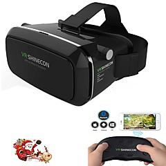 スマートフォンWHIリモートゲームパッド用バーチャルリアリティヘッドセットのVR shinecon 3D映画のゲームメガネ