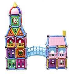 Magnetisches Spielzeug Magnetsticks Bildungsspielsachen Magnetische Gebäude-Sets Spielzeuge Architektur Magnetisch Neuartige Jungen