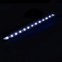 szuper fényes nappali menetjelző 12v 30cm vízálló led 15smd rugalmas univerzális autós stílus autó csík fény