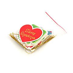 저렴한 -크리스마스 카드와 태그 크리스마스 장식 크리스마스 파티 제품 장난감 종이 5 조각 크리스마스 선물