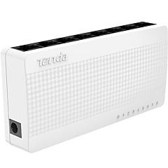 hesapli Ağa Bağlanma-tenda S 108 8 port ethernet switch küçük ve akıllı bir masaüstü düğmesi 8 * 10/100 Mbps RJ45 portları ağ switchs poe