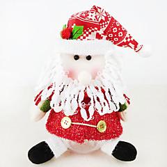 저렴한 -크리스마스 장식 크리스마스 파티 제품 크리스마스 장난감 장난감 산타 정장 눈사람 2 조각 크리스마스 선물