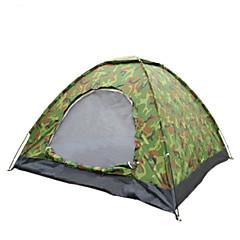 2人 テント シングル キャンプテント 1つのルーム 折り畳みテント 防水 携帯用 防風 抗紫外線 防塵 抗虫 折り畳み式 超軽量(UL) 蚊・虫除け 通気性 のために 釣り ビーチ キャンピング 旅行 屋外 炭素繊維 PUレザー cm