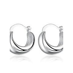 Øredobber Smykker Sølv Sølv Stripe Smykker Til Bryllup Fest Daglig Avslappet 1 par