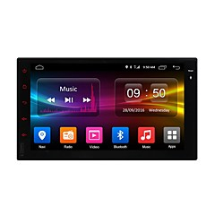 Χαμηλού Κόστους Ownice®-Ownice DGS7001F 7 inch 2 Din Android6.0 In-Dash DVD Player ΕΠΑΛΕΙΨΗ για Universal Υποστήριξη / MPEG4 / Mp3 / JPEG / Mp4 / JPG
